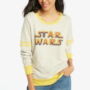 Star Wars Classic Logo Athletic Pullover Size L